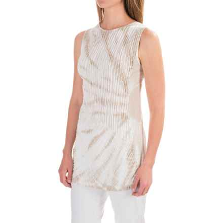 XCVI Sarah Tank Top - Modal-Cotton (For Women) in Kaleidescope Wash Ancient Marble - Closeouts