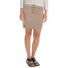 XCVI Sosi Stretch-Poplin Skirt (For Women) in Smokey Clay - Overstock