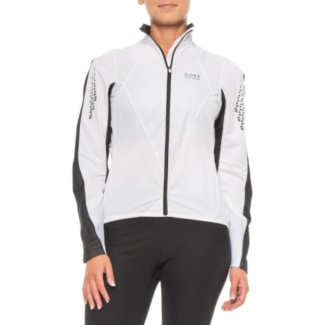 Xenon 2.0 Windstopper(R) Active Shell Cycling Jacket (For Women) - WHITE/BLACK (34 )
