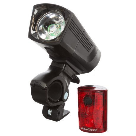 XLC Francisco Front Light/Proteus Rear Safety Light Set in See Photo