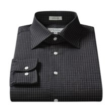 XMI Cotton Check Shirt - Long Sleeve (For Men) in Black/White - Closeouts
