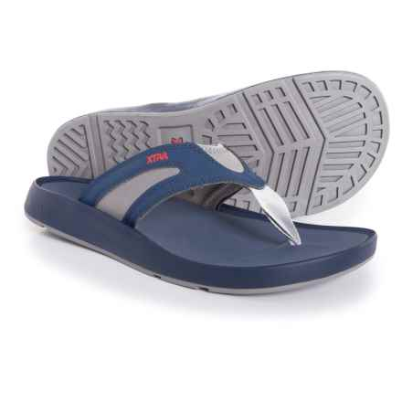 XTRATUF North Shore Flip-Flops (For Men) in Navy - Closeouts