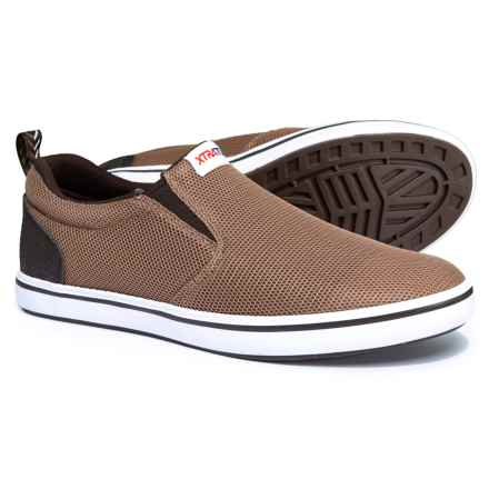 XTRATUF Sharkbyte Airmesh Shoes - Slip-Ons (For Men) in Brown - Closeouts
