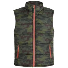 Xtreme Quilted Vest - Insulated (For Big Boys) in Olive Camo - Closeouts