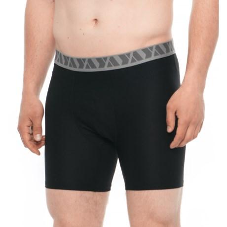 YaJoe Ultra Comfort Boxer Briefs - 2-Pack (For Men) in Black