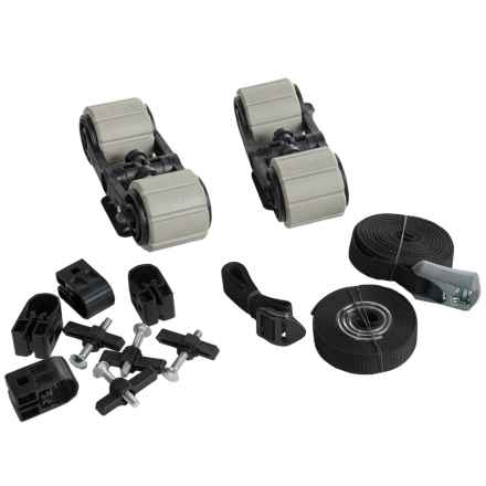 Yakima Hullyrollers Boat Mounts - Pair in Black - Overstock