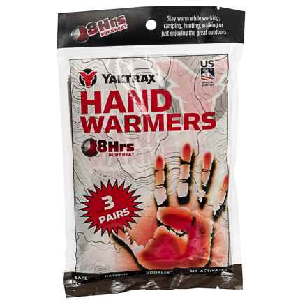 Yaktrax Hand Warmers - 3-Pack in See Photo - Closeouts