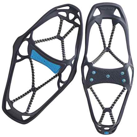 Yaktrax Walk Spike Winter Traction Pull-Ons (For Men and Women) in Dark Blue/Blue - Closeouts