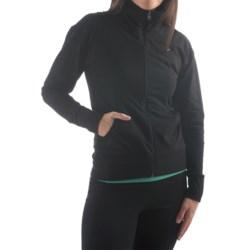 Yala Aspire Short Jacket - Stretch Organic Cotton (For Women) in Black