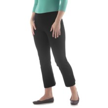 Yala Aspire Trech Crop Pants - Organic Cotton (For Women) in Black - Closeouts