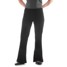 Yala Aspire Trech Long Pants - Organic Cotton (For Women) in Black - Closeouts
