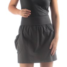 Yala Aspire Trech Short Skirt - Organic Cotton (For Women) in Shadow - Closeouts