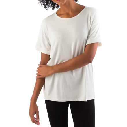 Yala Bella Shirt - Relaxed Fit, Short Sleeve (For Women) in Natural - Closeouts