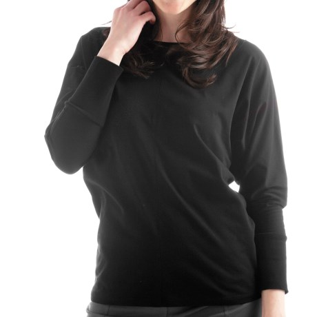 Yala Della Shirt - Organic Cotton, Long Sleeve (For Women) in Shadow