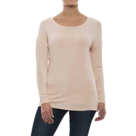 Yala Drop-Shoulder Shirt - Long Sleeve (For Women) in Shell Heather - Closeouts
