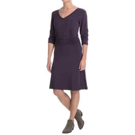 Yala Jasmine Dress - 3/4 Sleeve (For Women) in Nightshade - Closeouts