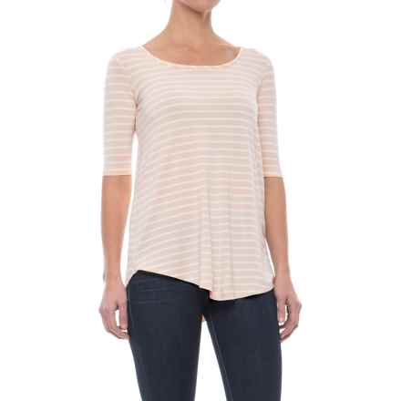 Yala Jolie Shirt - Elbow Sleeve (For Women) in Shell Stripe - Closeouts