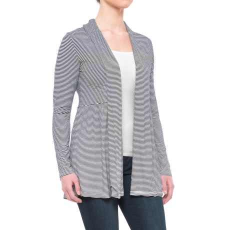 Yala Karina Open-Front Cardigan Shirt - Long Sleeve (For Women)