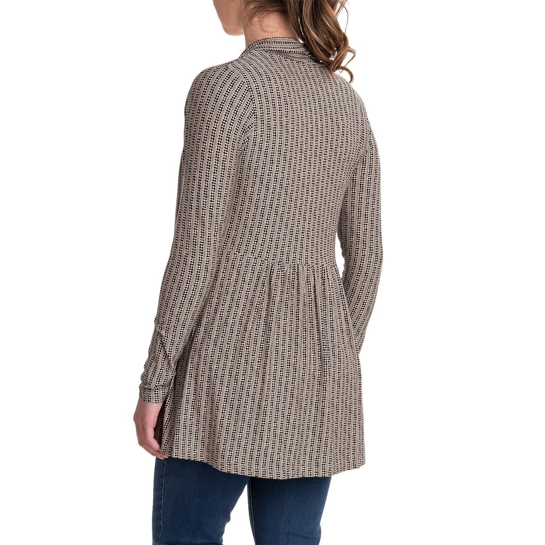 Yala Karina Open-Front Cardigan Shirt (For Women) - Save 55%