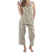 Yala Organic Cotton Alina Pajamas - Sleeveless (For Women) in Fern - Closeouts