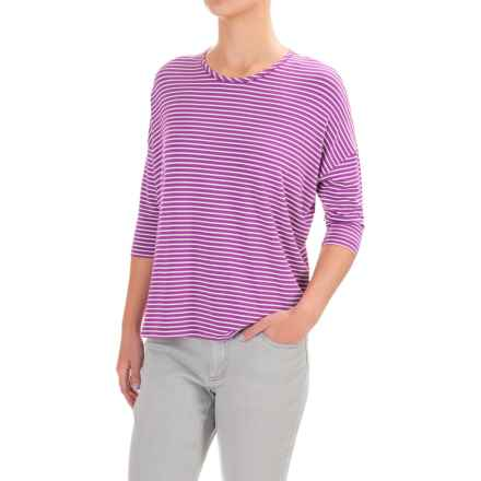 Yala Quinn Shirt - Elbow Sleeve (Women) in Orchid - Closeouts