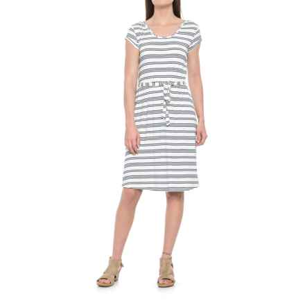 Yala Raelyn Dress - Scoop Neck, Short Sleeve (For Women) in Anchor Stripe - Closeouts
