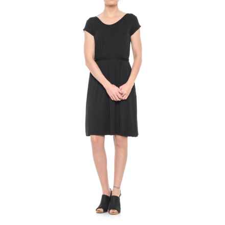 Yala Raelyn Dress - Short Sleeve (For Women) in Black - Closeouts
