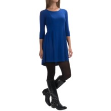 Yala Reese Dress - Scoop Neck, 3/4 Sleeve (For Women) in Royal Blue - Closeouts