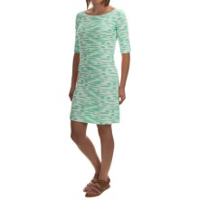 Yala Renee Dress - Scoop Neck, Elbow Sleeve (For Women) in Julep Brush - Overstock