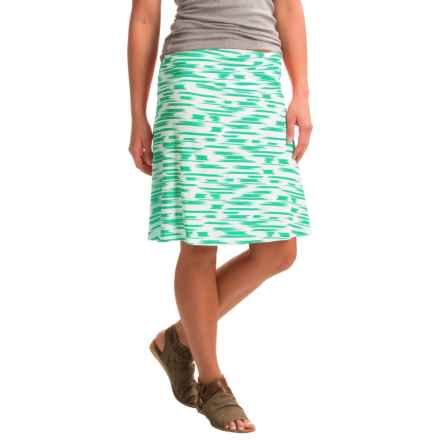 Yala Staci Skirt - Stretch Viscose (For Women) in Julep Brushstroke - Closeouts