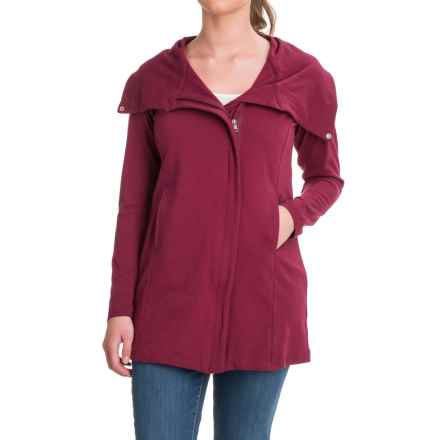 Yala Sydney Jacket - Organic Cotton (For Women) in Berry - Closeouts