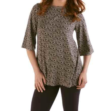 Yala Trixie Shirt - 3/4 Sleeve (For Women) in Nightshade Rhapsody - Closeouts