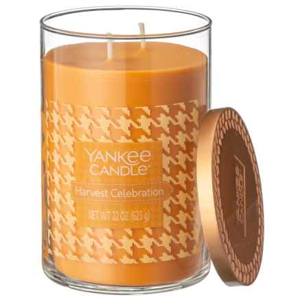 Yankee Candle Harvest Celebration Fall Favorites Collection Candle - 2-Wick, 22 oz. in Orange - Closeouts