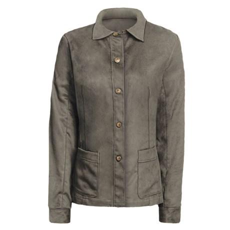 Yansi Fugel Moleskin Shirt Jacket - Adjustable (For Women) in Patina
