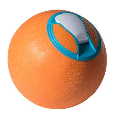 YayLabs! SoftShell Ice Cream Ball - 1 qt. in Orange