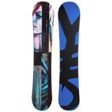 YES. Hel Yes Snowboard (For Women) in 146 Painted Lady/Black/Blue - Closeouts