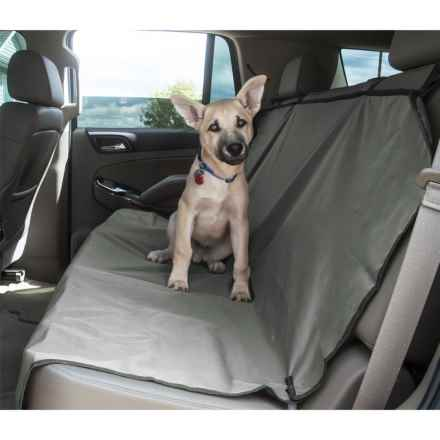 Yes Pets Bench Car Seat Cover - Waterproof in Gray - Closeouts
