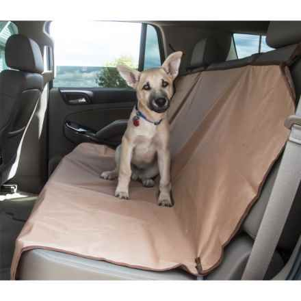 Yes Pets Bench Car Seat Cover - Waterproof in Tan - Closeouts