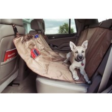 Yes Pets Hammock Car Seat Cover - Waterproof in Tan - Closeouts