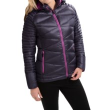 Yeti Aurea Air Down Jacket - 700 Fill Power (For Women) in Black/Old Rose - Closeouts