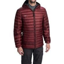 Yeti Cut Down Jacket - 800 Fill Power (For Men) in Copper/Black - Closeouts