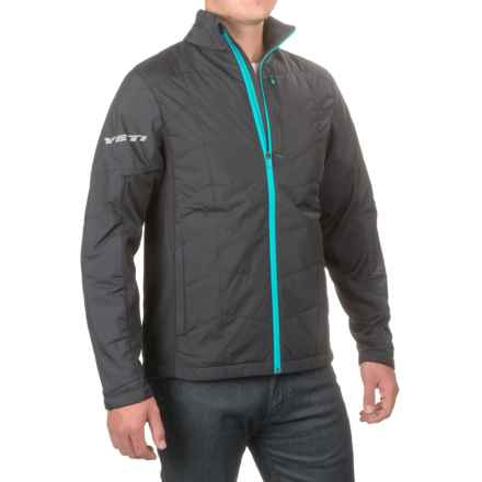 Yeti Cycles Guston PrimaLoft® Jacket - Insulated (For Men) in Charcoal - Closeouts