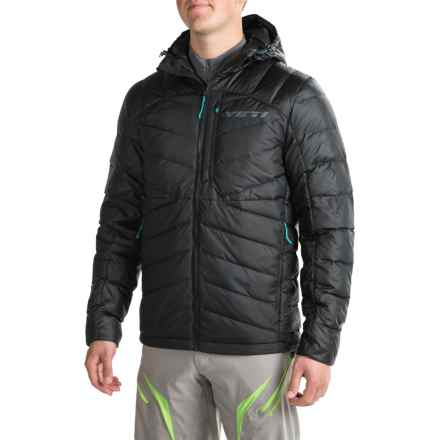 Yeti Cycles Preston Down Jacket - 650 Fill Power (For Men) in Black - Closeouts