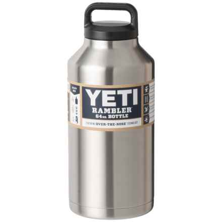 YETI Rambler Bottle - 64 oz., Stainless Steel in Stainless Steel - Closeouts