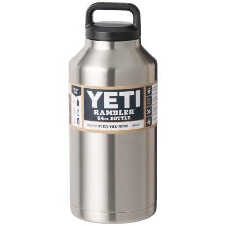 Yeti Rambler Bottle 64 Oz Stainless Steel Save 20