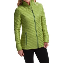 Yeti Vicenca Micro Chamber Down Jacket - 700 Fill Power (For Women) in Leaf Green/British Racing Green - Closeouts