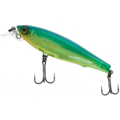 "Yo-Zuri 3DS Minnow Suspending Lure - 2-3/4"" in Holographic Chartreuse Lime"