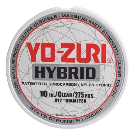 Yo-Zuri Hybrid Clear Fishing Line - 10 lb., 275 yds. in Clear
