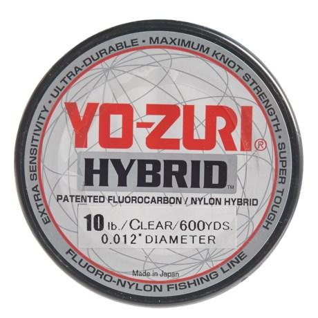 Yo-Zuri Hybrid Clear Fishing Line - 10 lb., 600 yds. in Clear