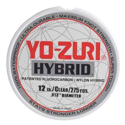 Yo-Zuri Hybrid Clear Fishing Line - 12 lb., 275 yds. in Clear - Closeouts